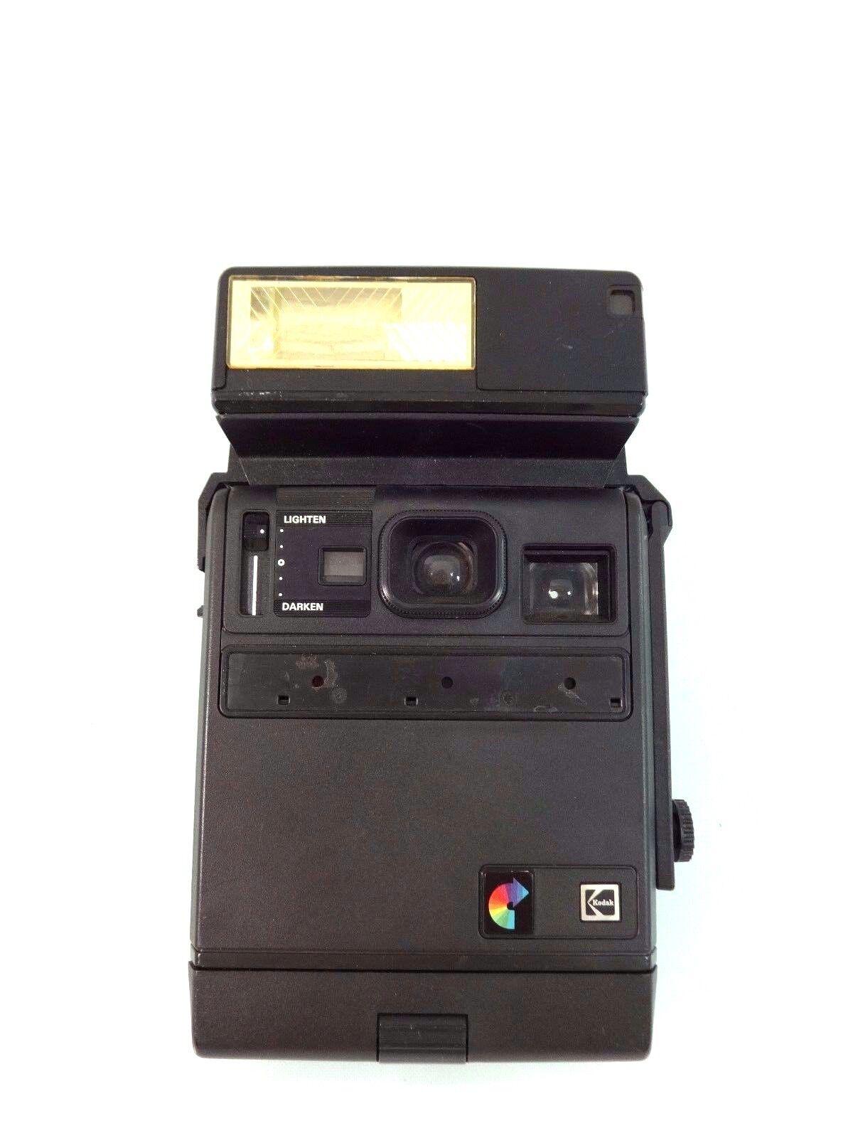 VINTAGE KODAK POLAROID EK160 INSTANT CAMERA WITH INSTANT FLASH MODEL C   eBay