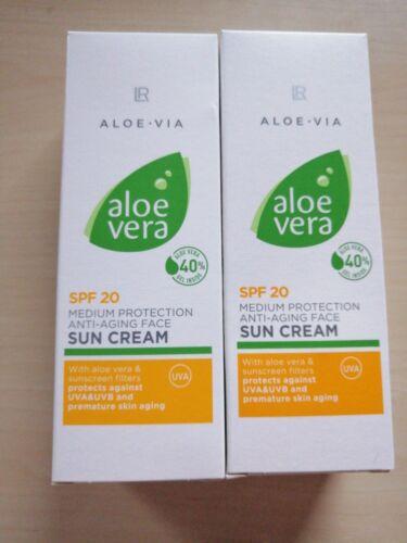 (26.99€/100ml)2 mal LR Aloe Via Sonnencreme LSF 20   50ml