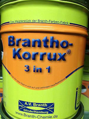 Brantho Korrux 3in1 Rostschutz  Metallschutzfarbe für LKW  Farbauswahl  750ml