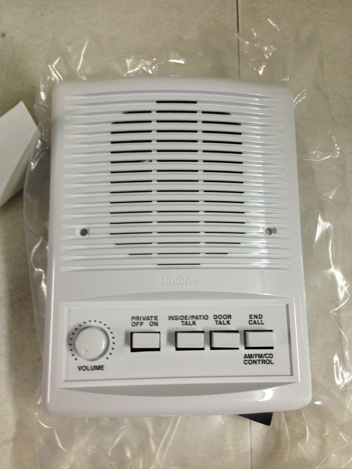 "Nutone Isa-449wh Outdoor 5"" Intercom Speaker Im4406"