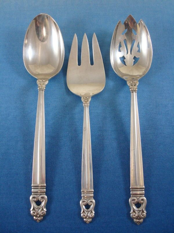 Royal Danish International Sterling Silver Flatware Set