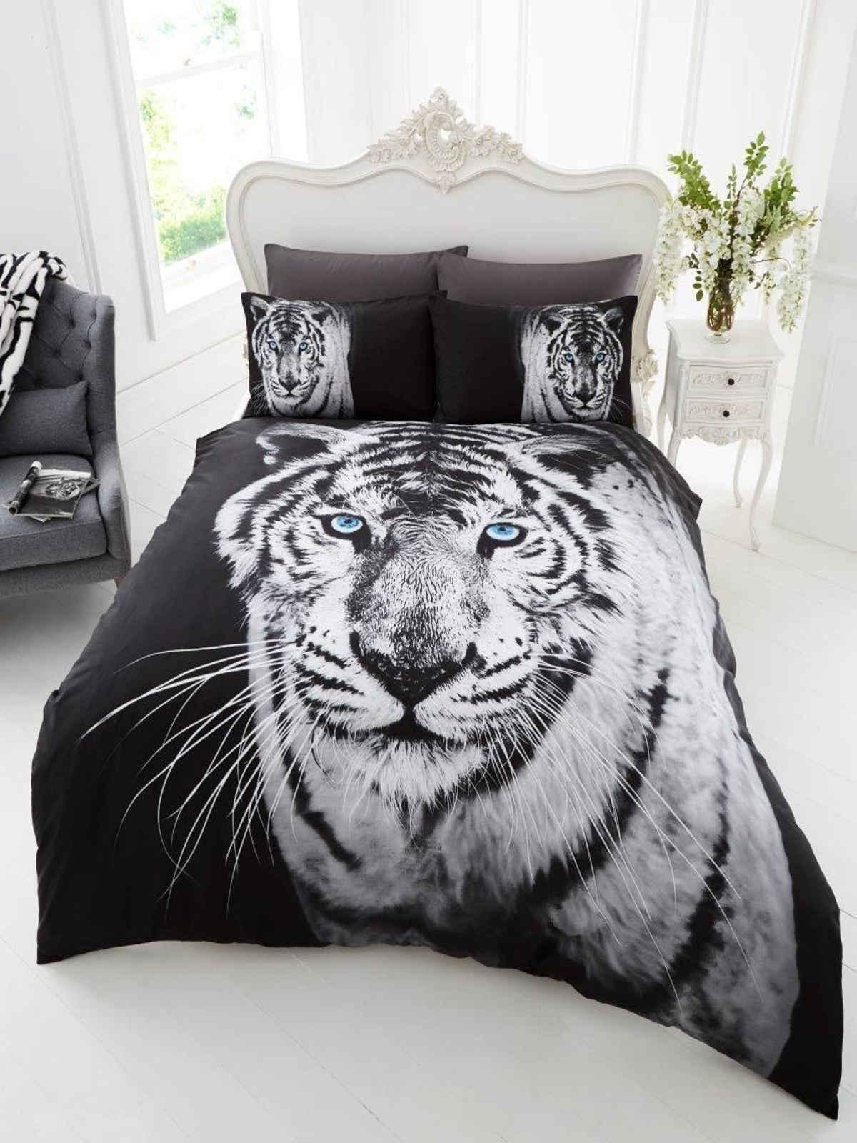 Wildlife Animal Print Duvet Cover Quilt Cover Bedding Sets Single Double King  eBay