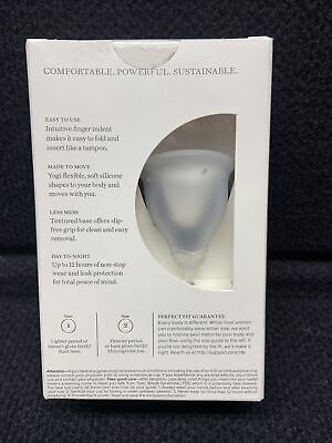 Cora The Cora Cup Size 1 Menstrual Cup Reusable Period Cup New Sealed