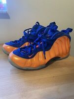 Nike Air Foamposite One Knicks 2014 Blue And Orange Size 12