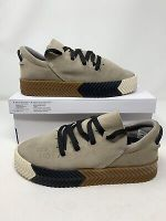 Adidas x Alexander Wang AW Skate Shoes Suede Low Top Sneakers Light Grey BY8910