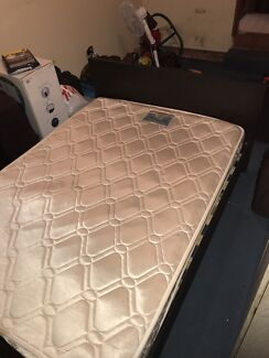 Double Bed With Mattress In Good Condition Beds Gumtree Australia Campbelltown Area 1150565221