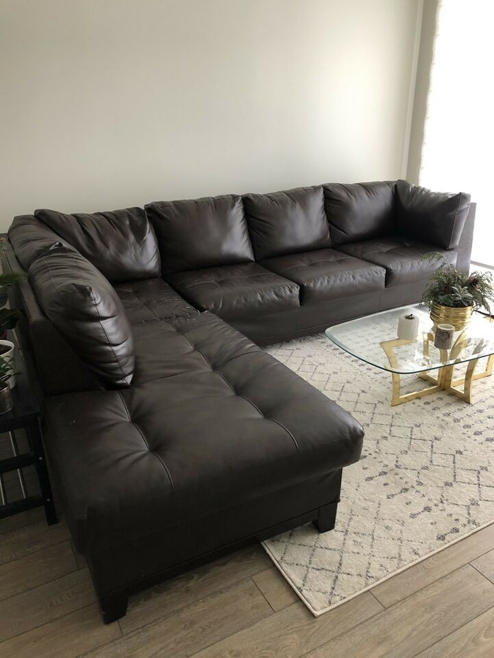 sectional sofa couch living room decor ideas with brown leather comfortable couches futons listing item