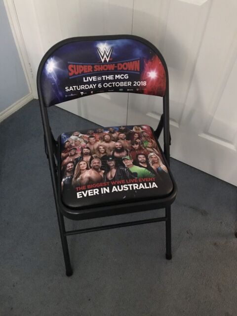 what are wwe chairs made of fishing chair with canopy super showdown miscellaneous goods gumtree you don t have any recently viewed items