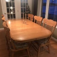 Oak Kitchen Tables Grey Cabinet Ideas Table Chairs Buy And Sell Furniture In Peterborough