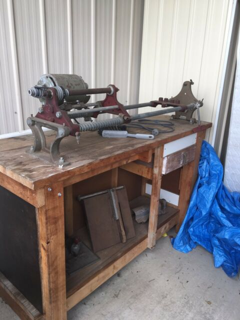 Antique Woodworking Lathe