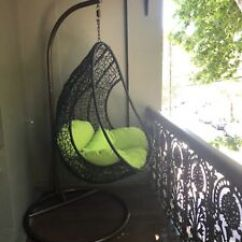 Egg Chair Stand Australia Ashley Furniture Table And Chairs Outdoor Dining Gumtree