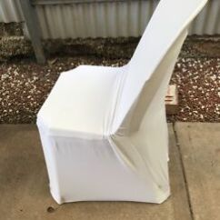 Chair Covers For Sale Adelaide Best Rated High X20 Black Fitted Miscellaneous Goods Gumtree White 5 Each