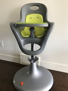 boon flair high chair green where to buy covers in canada tu or sell feeding chairs calgary kijiji pedestal grey