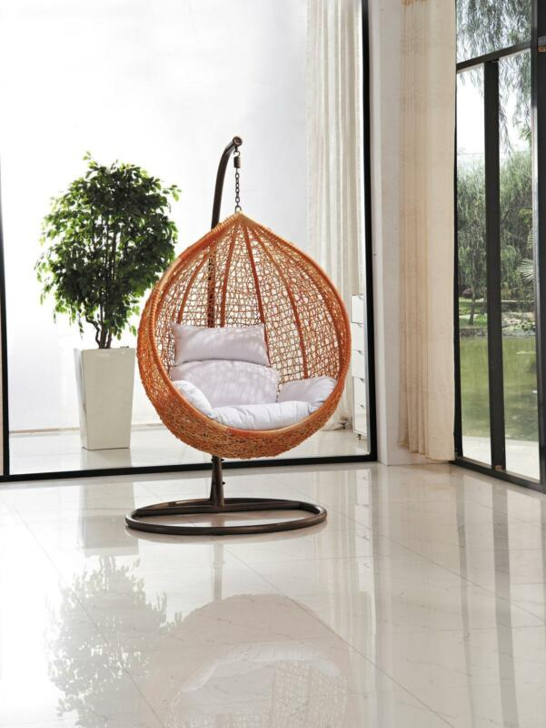 wicker patio chair set of 2 amazon beach hanging egg | ebay