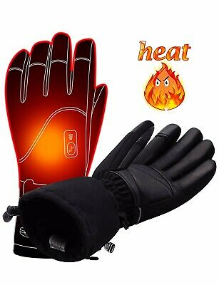 Men Women Electric Heated GlovesTouchscreen Heating Gloves XL