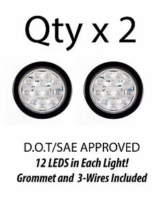 4-Inch-White-12-LED-Round-Backup-Tail-Truck-Light-w