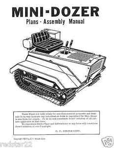 STRUCK-MINI-DOZER-SERVICE-ASSEMBLY-MANUAL-MD1200-MD1600