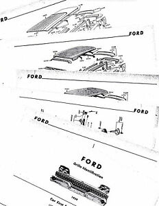 1958 Ford fairlane body parts