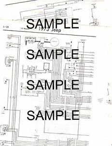 73 Jeep Wagoneer Wiring Diagram, 73, Get Free Image About