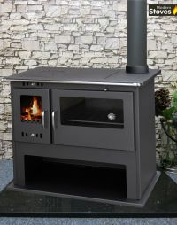 Wood Burning Range Stove Oven Cooker Multi Fuel Milan ...