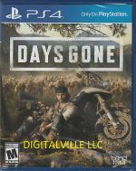 Days Gone PS4 PlayStation 4 Brand New Factory Sealed