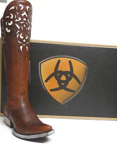 Ariat Ladies 039 Tall 15 034 Shaft Western Boots Hacienda
