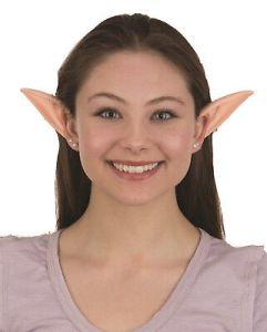 Latex Elf Ears Clip On Troll Gobblin Kids Adults Unisex 28708