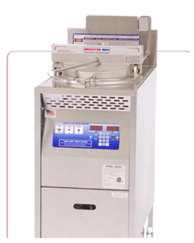 commercial kitchen ventilation office appliances broaster 1800: fryers   ebay