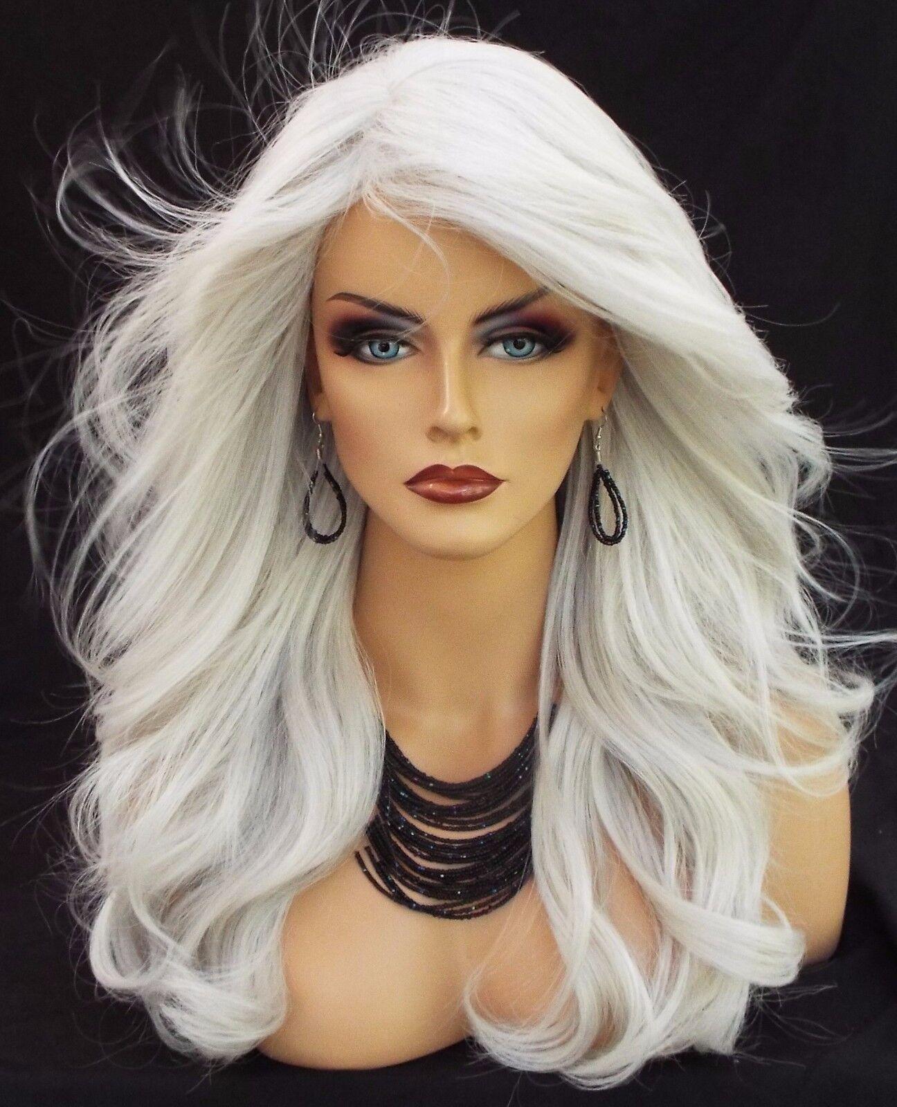 long wavy heat friendly wig color