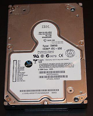 SCSI Festplatte mit 18 GB, IBM/Seagate