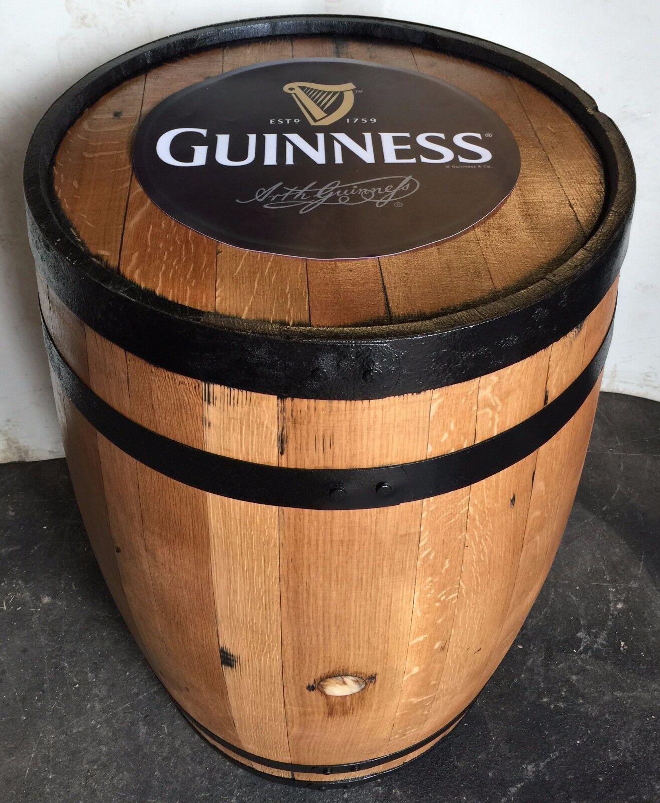 wooden beer barrel chairs korum fishing chair reviews refurbished guinness solid oak original patio