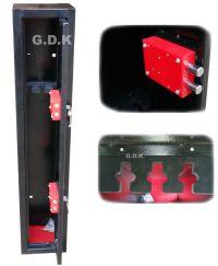 GDK, 3 GUN CABINET, SHOTGUN, RIFLE CABINET, SAFE,BS7558/92 ...