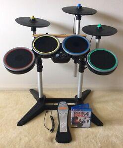 Rock Band Drum Set Ps4 : WIRELESS, CYMBALS, EXPANSION, Playstation, Gumtree, Australia, Coast, Arundel, 1264157570