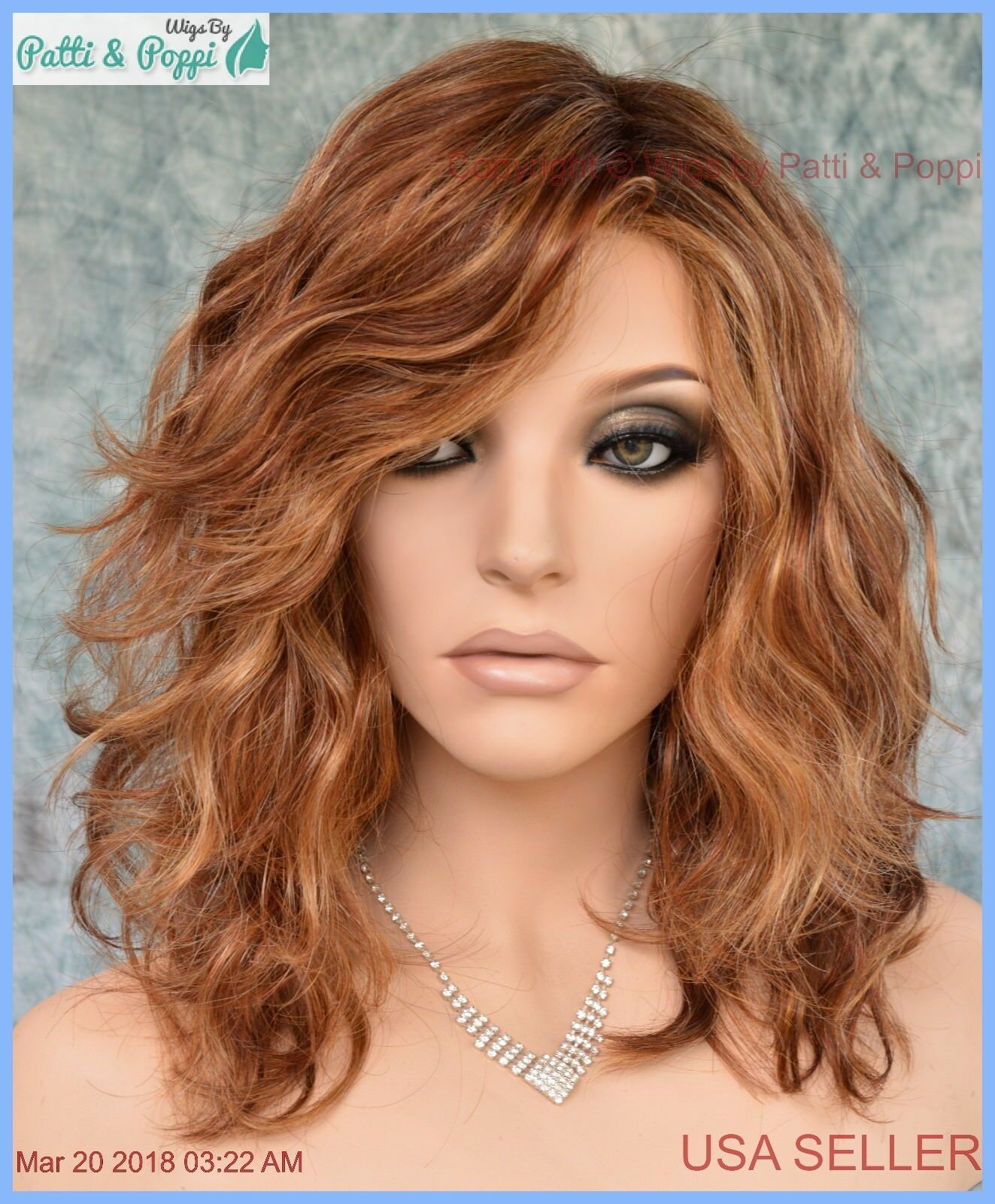 Radiant beauty gabor wig color gl ss rusty auburn lace front mono part also rh ebay