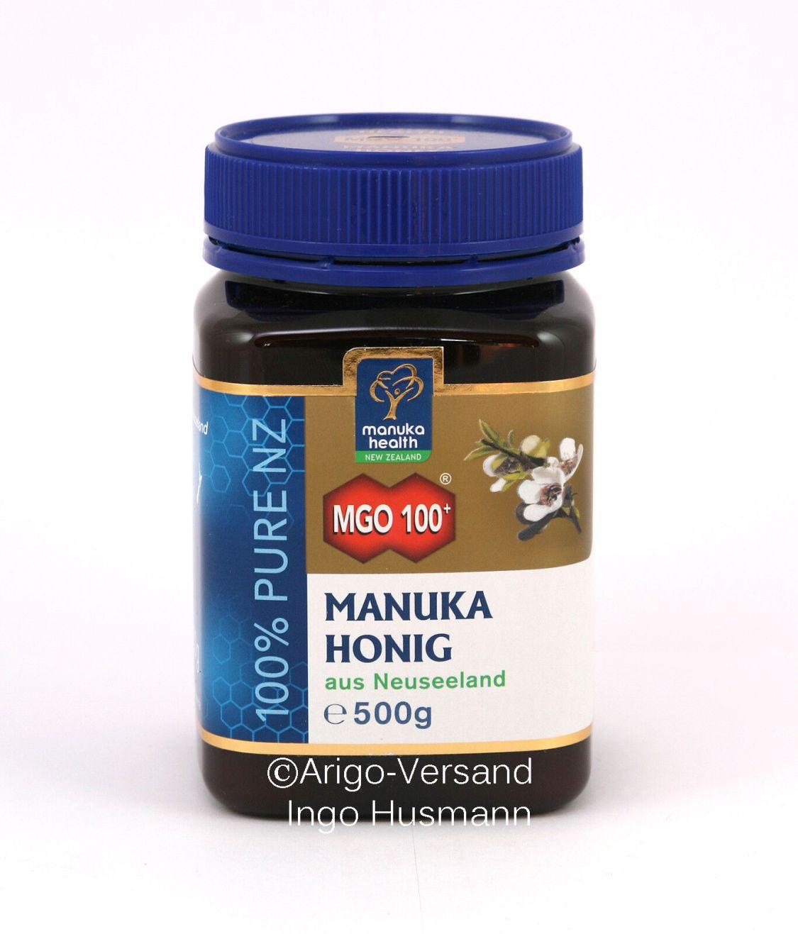 Aktiver Manuka-Honig MGO™ 100+ aus Neuseeland, 50g / 500g / 1000g