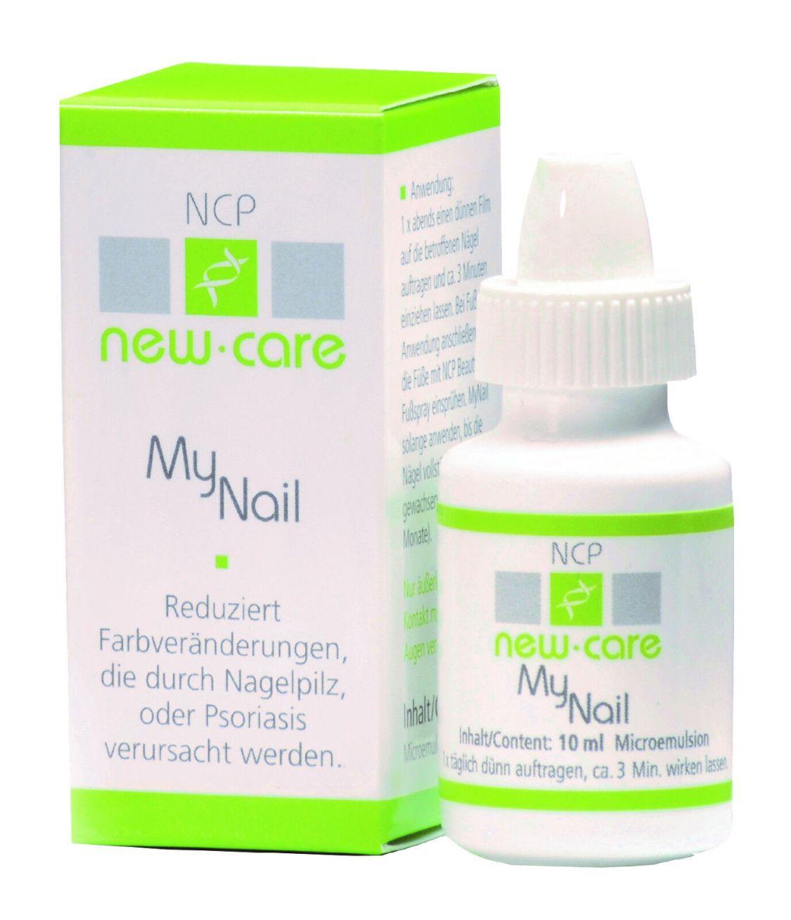 Nagelpilz NewCare MyNail die innovative Pflege und Prophylaxe