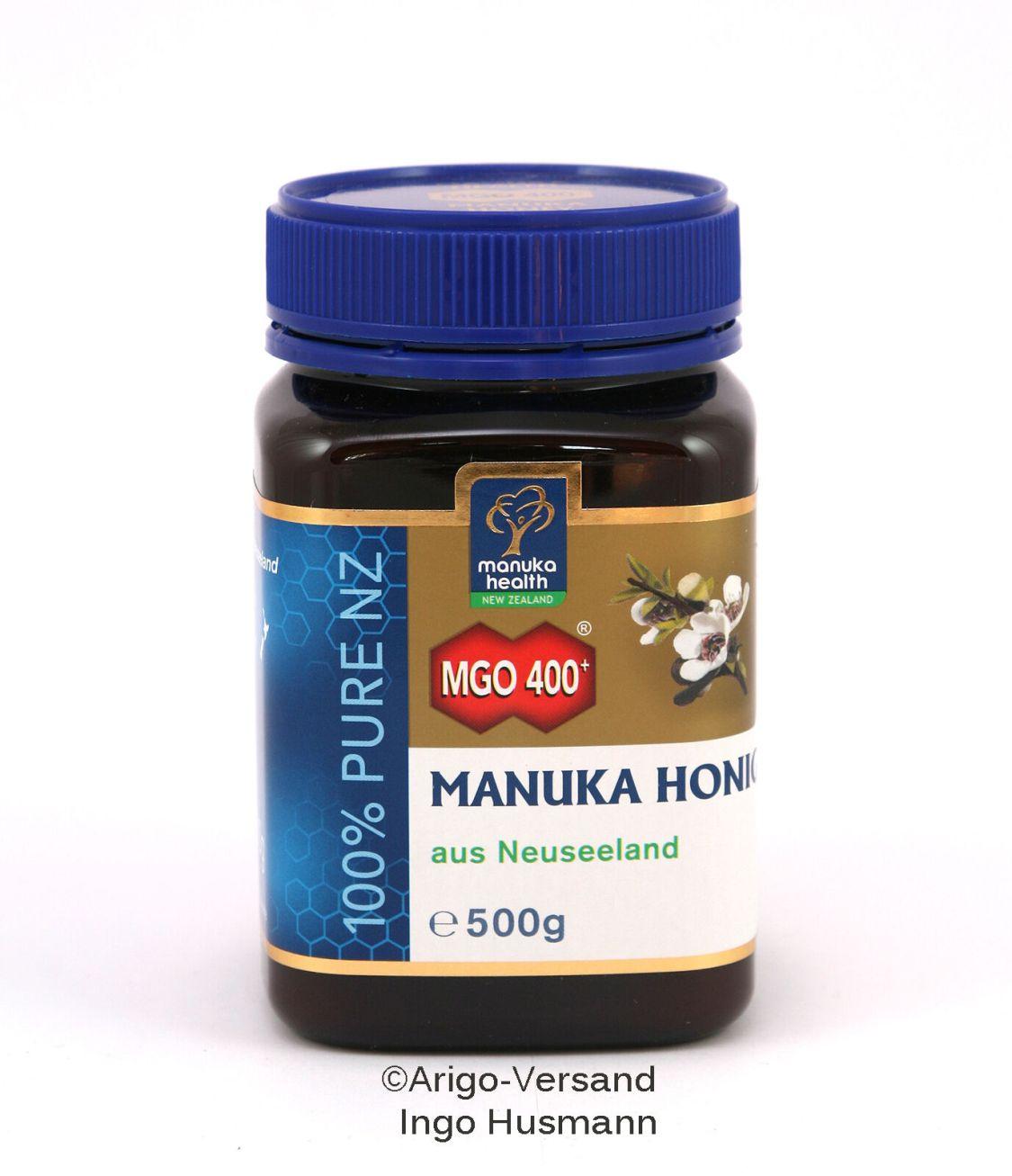 Aktiver Manuka-Honig MGO™ 400+,  250g / 500g / 2x500g aus Neuseeland