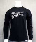 New Diamond Supply Co. Collection Michael Jackson L/S Black T Shirt RDAM-157