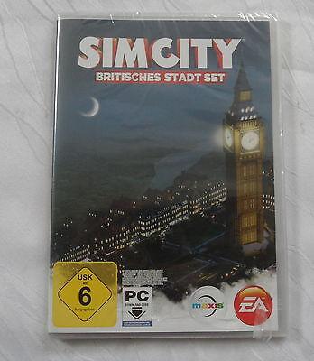 Sim City - Britisches Stadt Set Add-on für PC - Neu in Folie !
