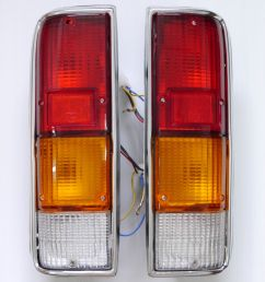 isuzu kb 21 chevrolet luv tail light lamp 1972 1989 year before 1980 [ 1459 x 1600 Pixel ]