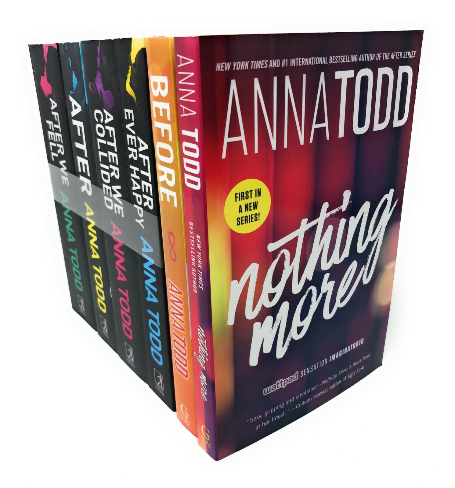 Anna Todd Before And After Series 6 Books Set Collection