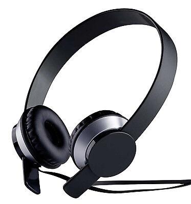GRUNDIG Kopfhörer Schwarz Stereokopfhörer Heim-Audio & HiFi MP3 CD TV DJ Neu
