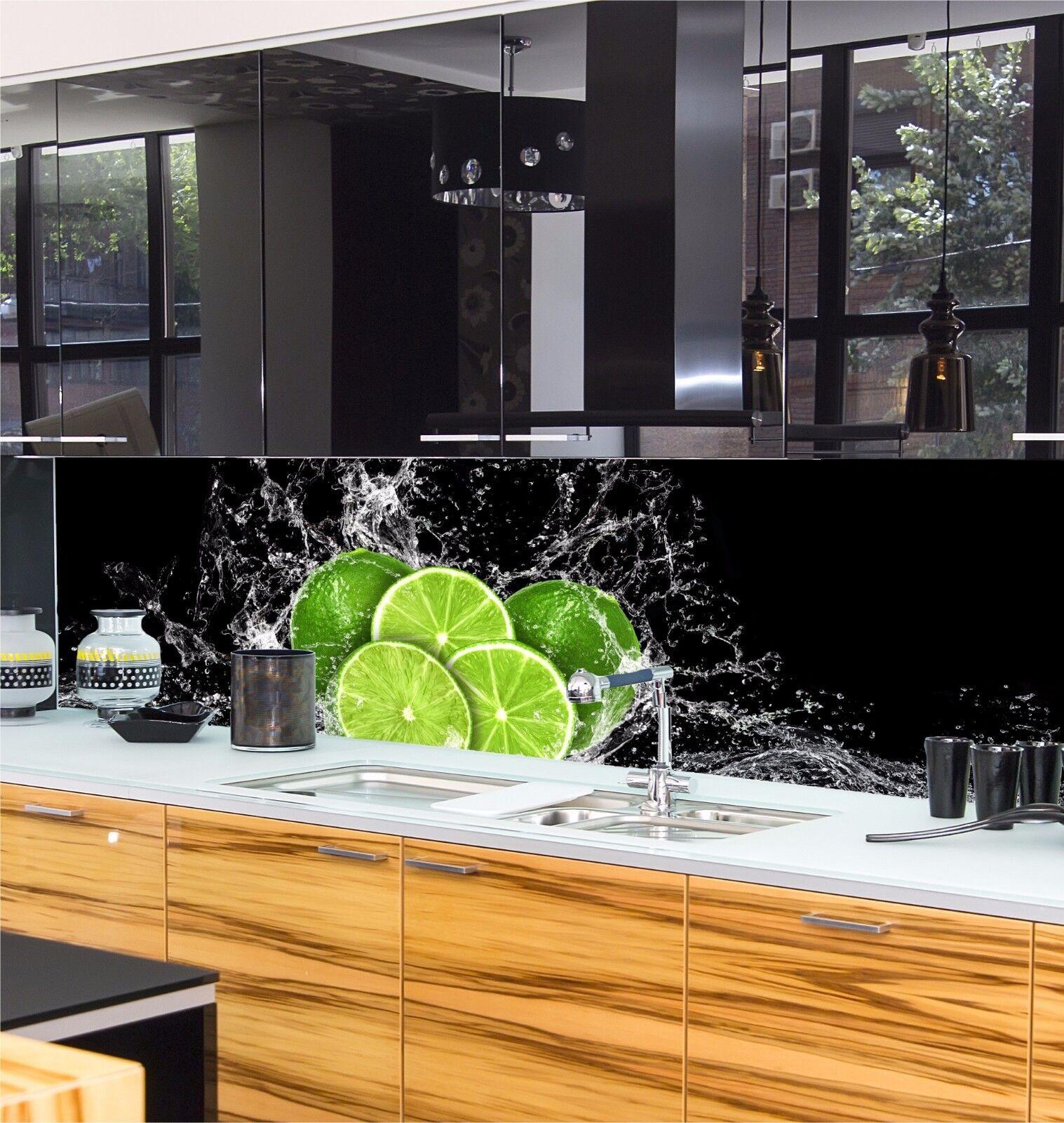 Küchenrückwand Günstig Glasplatte Spritzschutz Küche Wohn Design