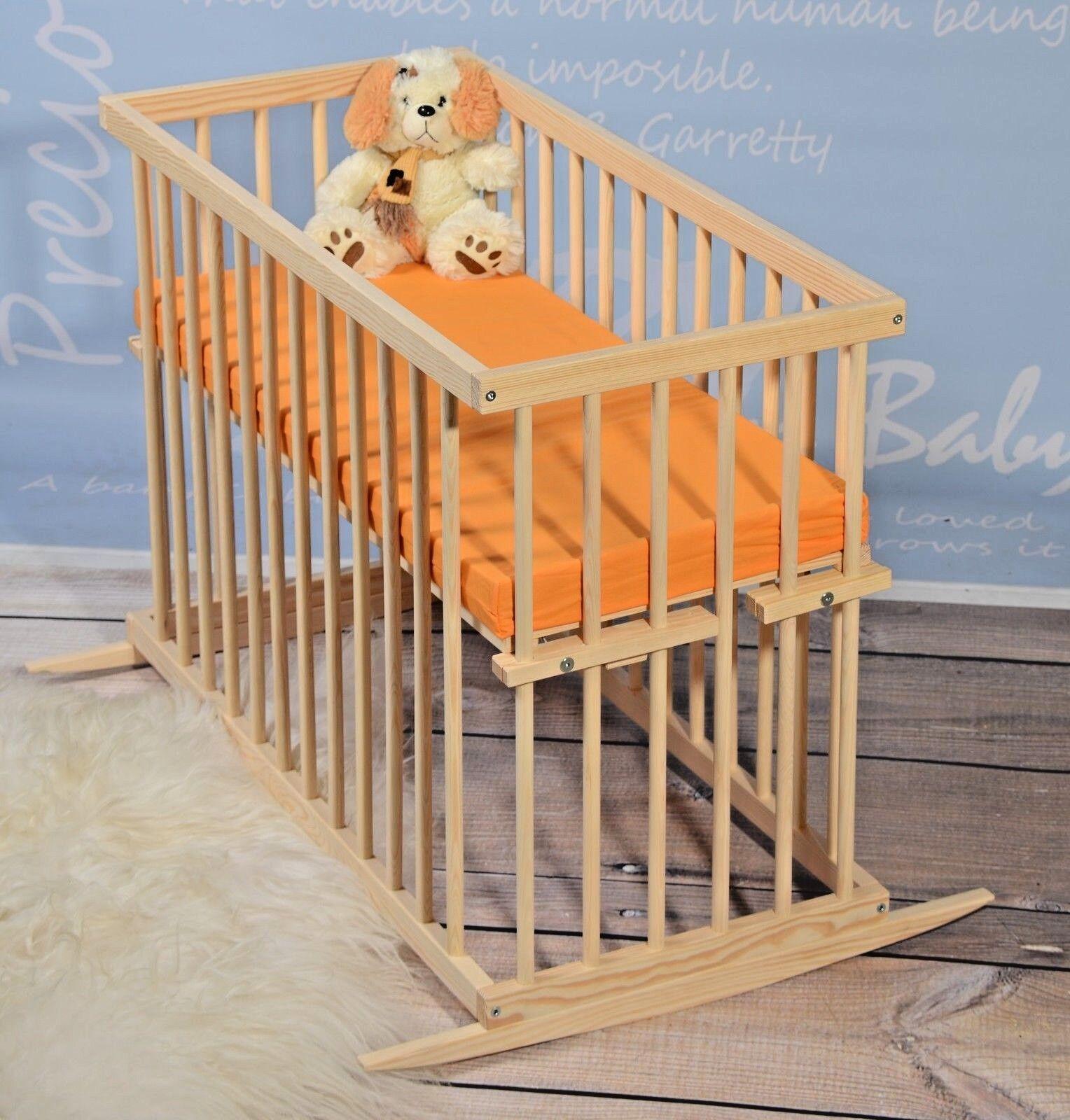 Beistellbett Babybett Babywiege Stubenwagen Gitterbett Komplet
