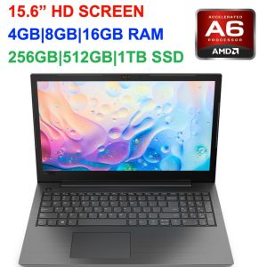 "2019 Newest Lenovo 15.6"" Laptop AMD A6 Dual-Core 2.6GHz, up to 16GB RAM &1TB SSD"