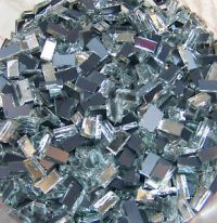 500-1-4-x1-2-HANDCUT-GLASS-SILVER-Mirrors-Mosaic-Tiles ...