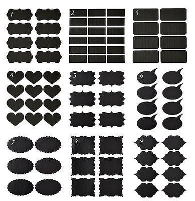 3 Bogen Tafelfolie Etiketten Klebefolie Sticker beschreibbar selbstklebend Folie