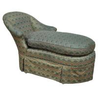 Vintage Fainting Couch: Decorative Collectibles