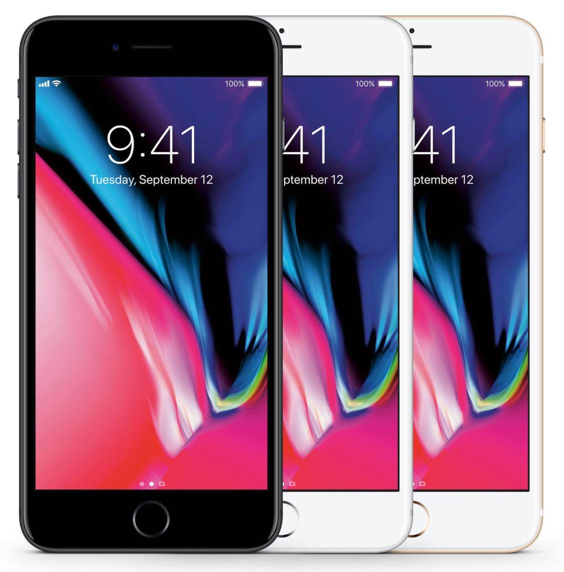 APPLE IPHONE 8 64GB SPACEGRAU GOLD ROT SIMLOCKFREI WOW TOP SMARTPHONE NEU