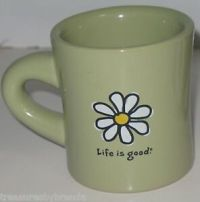 Life is Good Coffee Mug Cup Cup Daisy Do What You Like ...